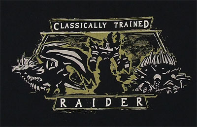Classically Trained Raider - World Of Warcraft T-shirt