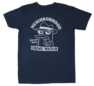 Neighborhood Crime Watch - Phineas And Ferb T-shirt