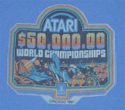 Atari World Championships - Junk Food Men's T-shirt