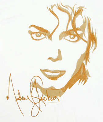 Signature Portrait - Michael Jackson T-shirt