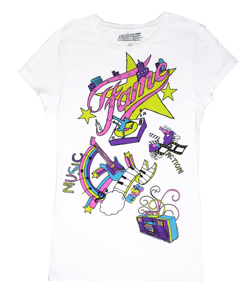 Music Sketch - Fame Sheer Women's T-shirt