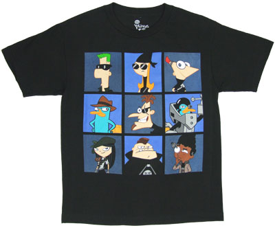 Spies - Phineas And Ferb Youth T-shirt