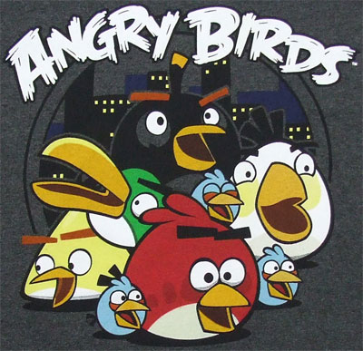 Good Night - Angry Birds T-shirt