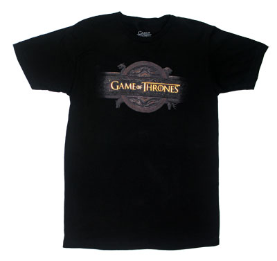 Logo - Game Of Thrones T-shirt