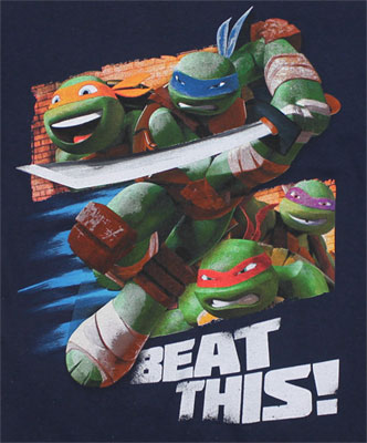 Beat This! - Teenage Mutant Ninja Turtles Juvenile T-shirt