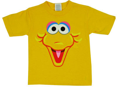 Big Bird Face - Sesame Street Toddler T-shirt