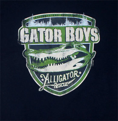 Alligator Rescue - Gator Boys T-shirt