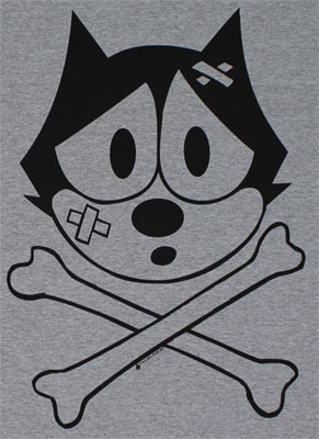 Felix Crossbones - Felix The Cat T-shirt