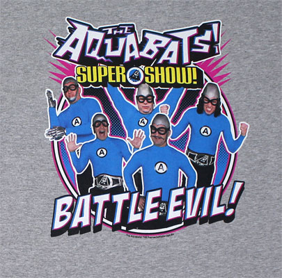 Battle Evil! - Aquabats T-shirt
