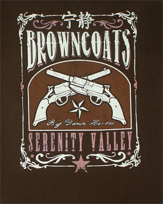 Browncoats Serenity Valley - Firefly T-shirt