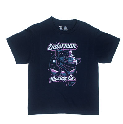 Enderman Moving Company - Minecraft Youth T-shirt