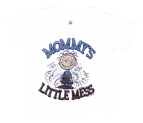 Mommy's Little Mess - Peanuts Toddler T-shirt