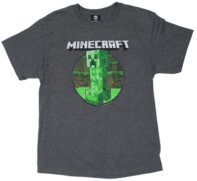 Retro Creeper - Minecraft T-shirt