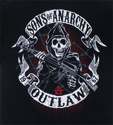 Outlaw - Sons Of Anarchy T-shirt