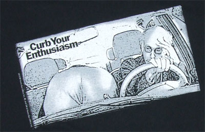 In The Car - Curb Your Enthusiasm T-shirt