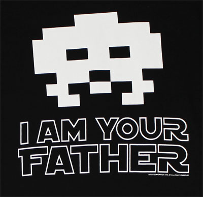 I Am Your Father - Space Invaders T-shirt