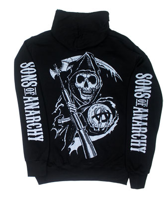 Samcro Logo - Sons Of Anarchy Hooded Sweatshirt