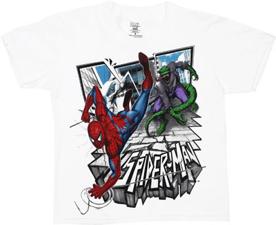 Spider-Man And Lizard - Marvel Comics Juvenile T-shirt