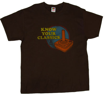 Know Your Classics - Atari T-shirt