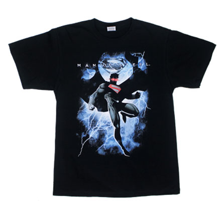 Steel Lightning - Man Of Steel T-shirt