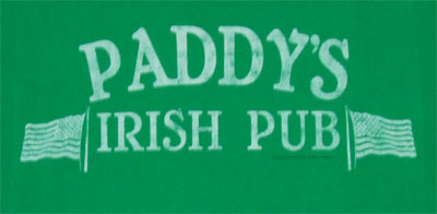 Paddy's Irish Pub (Faded) - It's Always Sunny In Philadelphia T-shirt