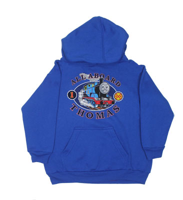All Aboard - Thomas The Tank Engine Juvenile And Toddler Hooded Sweatshirt