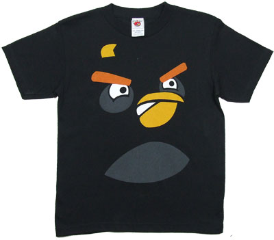 Bomber Face - Angry Birds Youth T-shirt