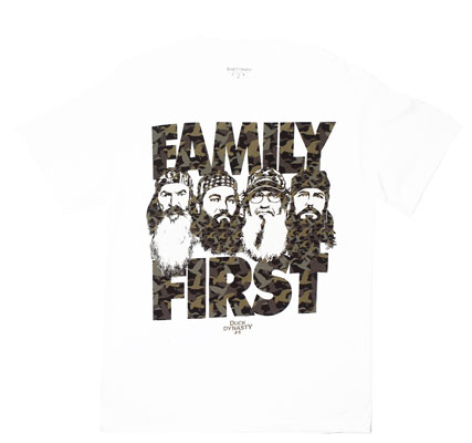 Family First - Duck Dynasty T-shirt