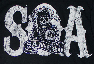 Chest Logo - Sons Of Anarchy Long Sleeve T-shirt