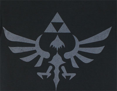 Triforce Emblem - Legend Of Zelda - Nintendo T-shirt