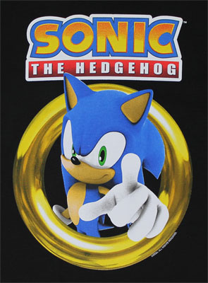 Sonic In Rings - Sonic The Hedgehog Youth T-shirt