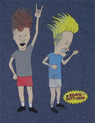Headbangers - Beavis And Butthead T-shirt