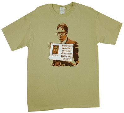 D.W.I.G.H.T. - The Office T-shirt