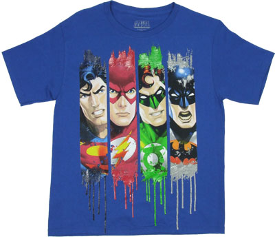 Justice Leauge - DC Comics Youth Tee