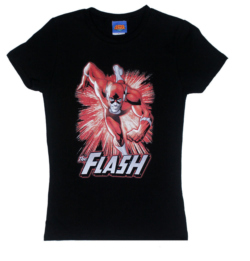 Flash Burst - DC Comics Sheer Women's T-shirt