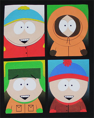 Quad Park - South Park T-shirt