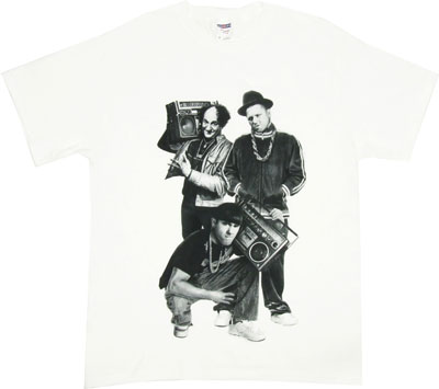 Hip Hop Stooges - Three Stooges T-shirt
