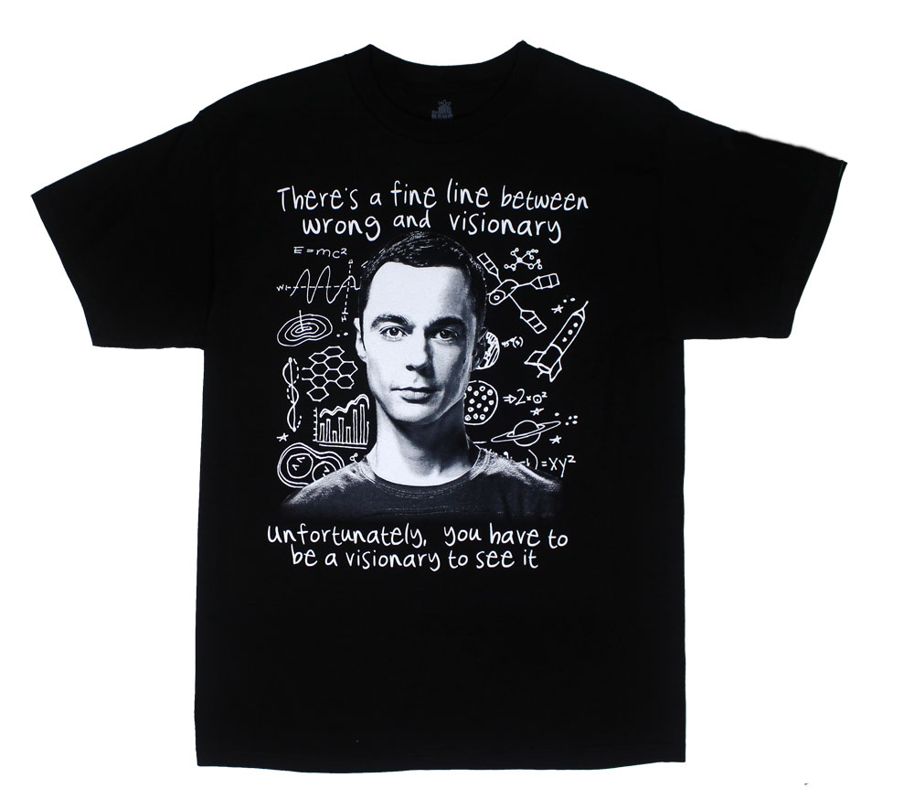 Visionary - Big Bang Theory T-shirt