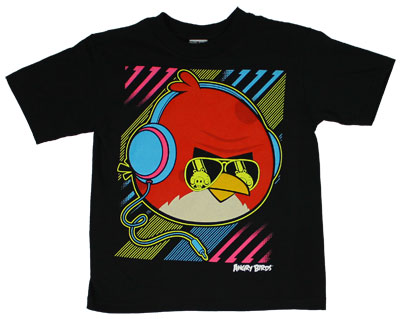 Big Neon Bird - Angry Birds Juvenile T-shirt