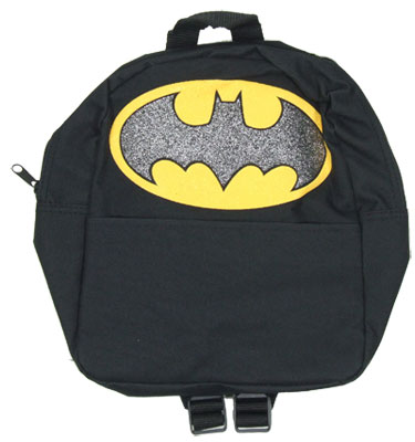 Batman Glittered Logo Mini Back Pack