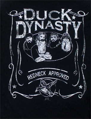 Duck Scroll - Duck Dynasty Long Sleeve T-shirt