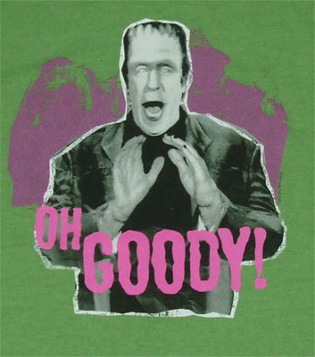 Oh Goody! - The Munsters Sheer T-shirt
