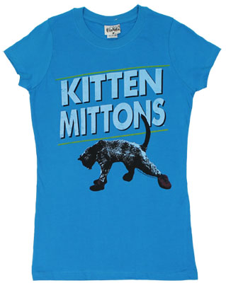 Kitten Mittons - It&#039;s Always Sunny In Philadelphia Sheer Women&#039;s T-shirt 
