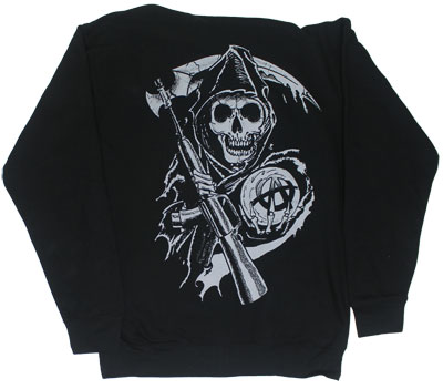 Boxed Reaper - Sons Of Anarchy Hooded Sweatshirt