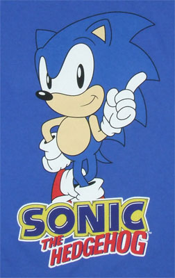 Sonic The Hedgehog Boys T-shirt