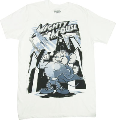 Rocket Mouse - Mighty Mouse Sheer T-shirt