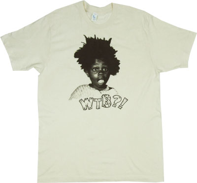 WTB?! - Buckwheat Sheer T-shirt