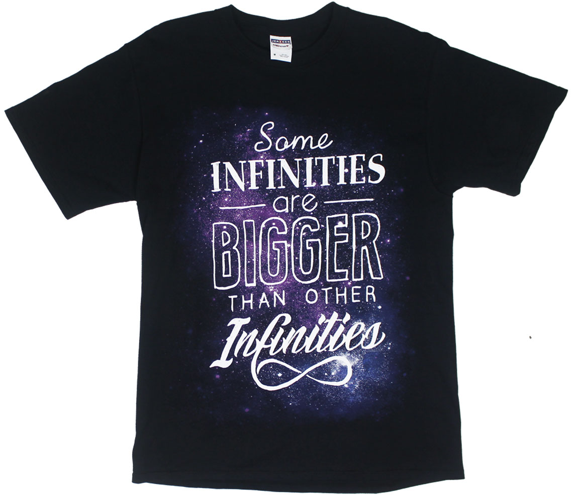 Some Infinities Are Bigger - The Fault In Our Stars T-shirt