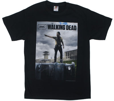 Rick On Top - Walking Dead T-shirt