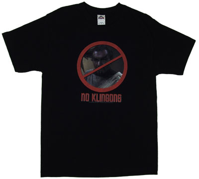 No Klingons - Star Trek T-shirt